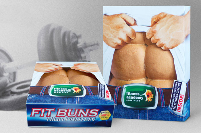 Fit Buns Packaging