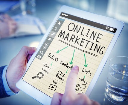 Online marketing plan with SEO